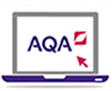 aqa laptop logo
