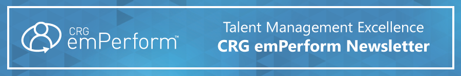 CRG emPerform Newsletter
