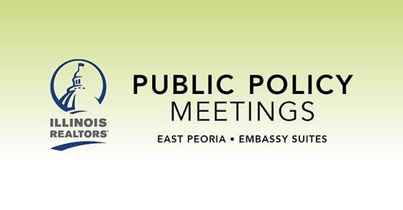 Illinois REALTORS® 2019 Public Policy Meetings
