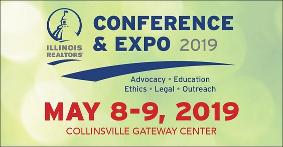 Illinois REALTORS Conference & Expo May 8 & 9 at Collinsville Gateway Center