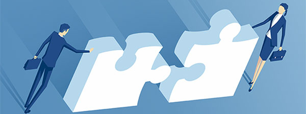 Employee or Independent Contractor puzzle pieces