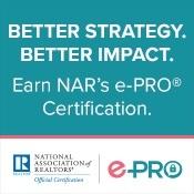 NAR e-PRO Certification ad