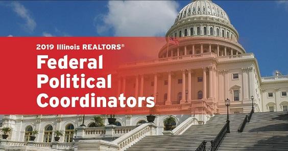 2019 Illinois REALTORS Federal Political Coordinators