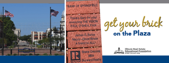 Get your brick on the Bicentennial Plaza