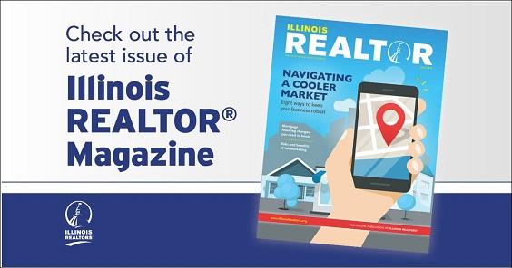 July edition Illinois REALTORS magazine