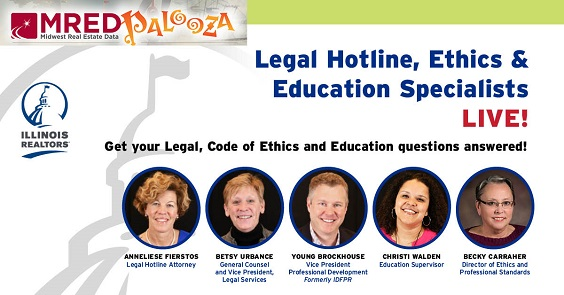 M red pa loo za features Illinois REALTOR staff experts