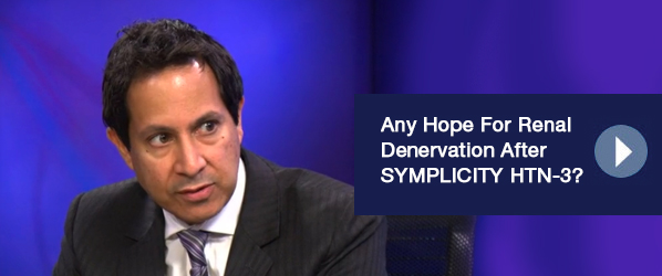 http://medprofvideos.mayoclinic.org/videos/any-hope-for-renal-denervation-after-symplicity-htn-3