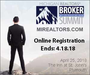 Broker Summit - Online Registration ends 4.18.18
