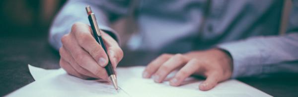 Signering av dokumenter