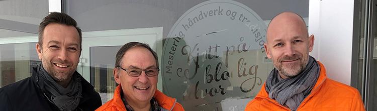 Representanter for NHO Reiseliv og Brødr Ringstad.