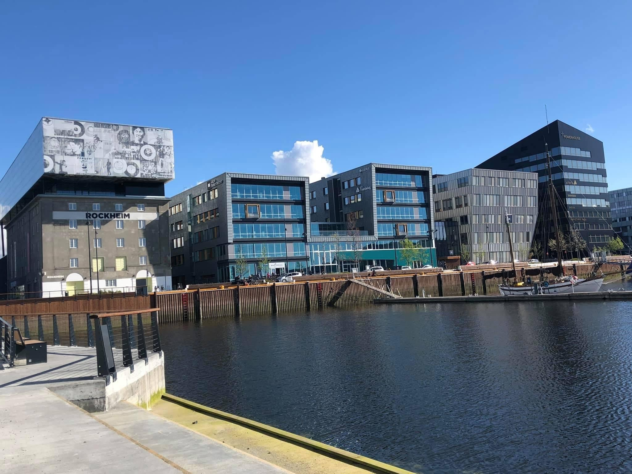 Bilde av Trondheim.