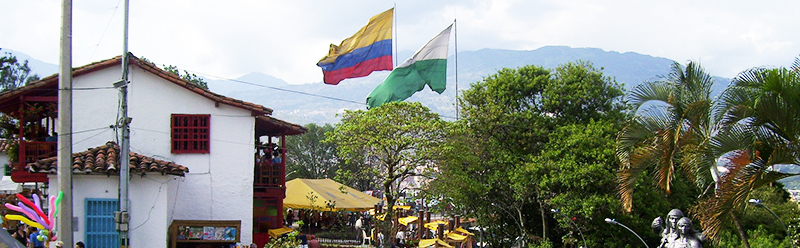 photo of Colombia and Colombian flag