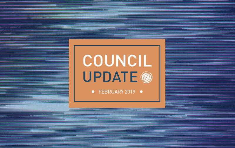 Council Update February 2019