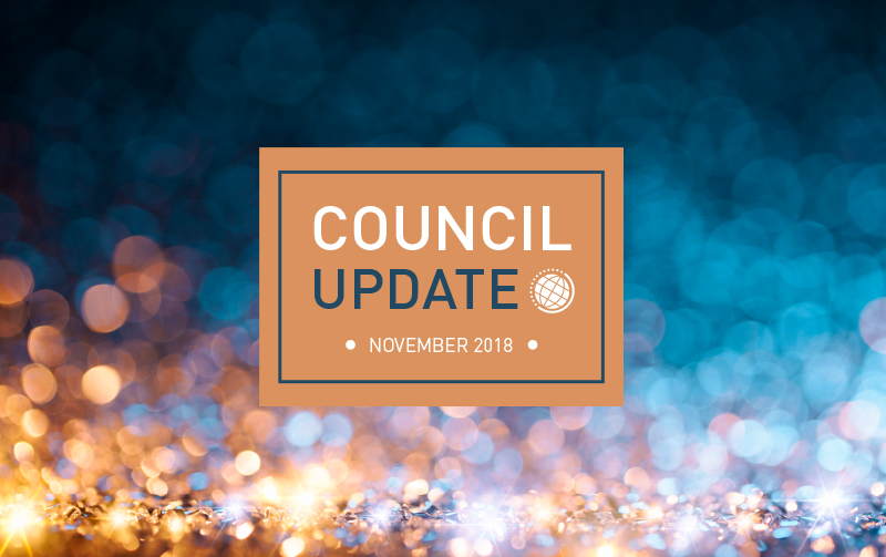 Council Update logo banner