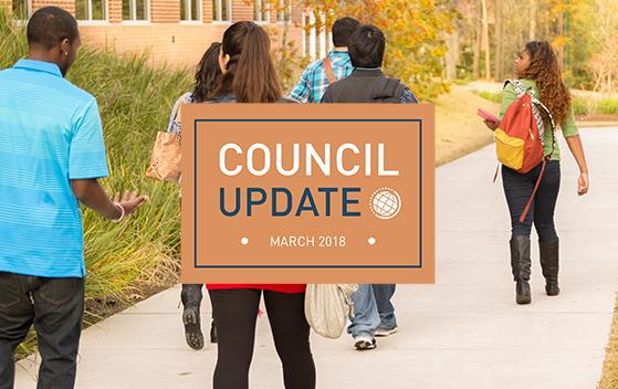 Council Update banner