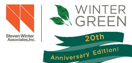 WinterGreen 25th Anniversary Banner