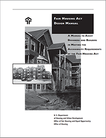 Image of Fair Housing Act Design Manual