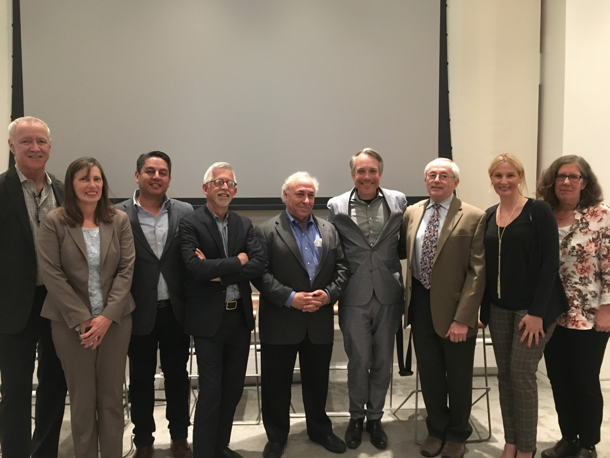 Image of Panelists from Design for Aging event