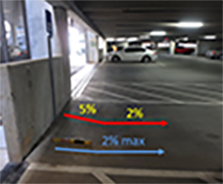 Image of Accessible parking garage