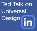 Ted Talk on Universal Design