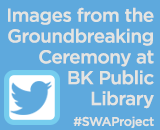 Twitter Thumbnail - Click to see images of the groundbreaking ceremony at the Brooklyn public library