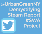 Twitter Thumbnail - Urban Green Steam Report #SWAProject