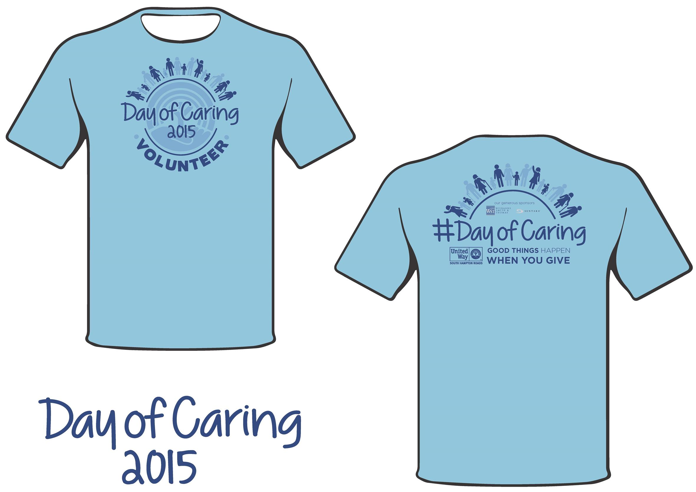 Day Of Caring T Shirt Order Form
