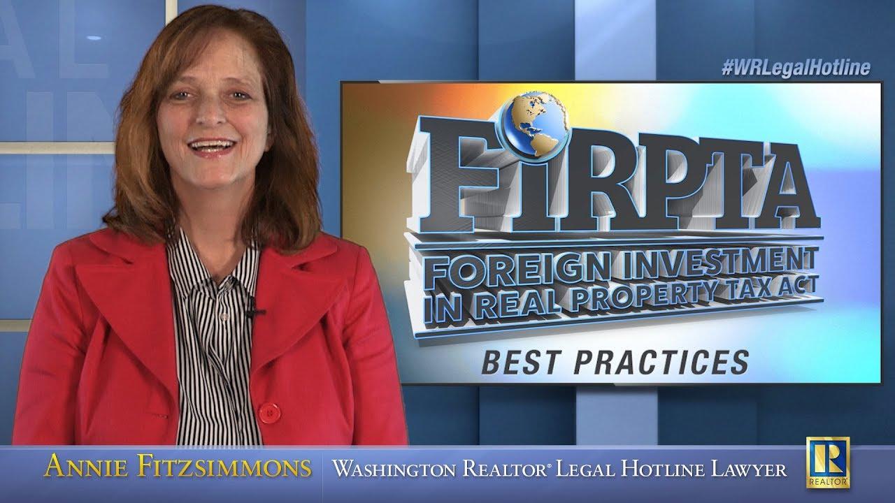 FIRPTA Best Practices