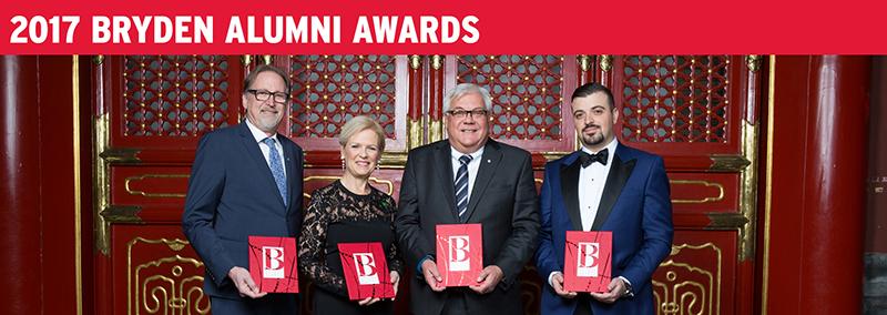 2017 Bryden Alumni Awards