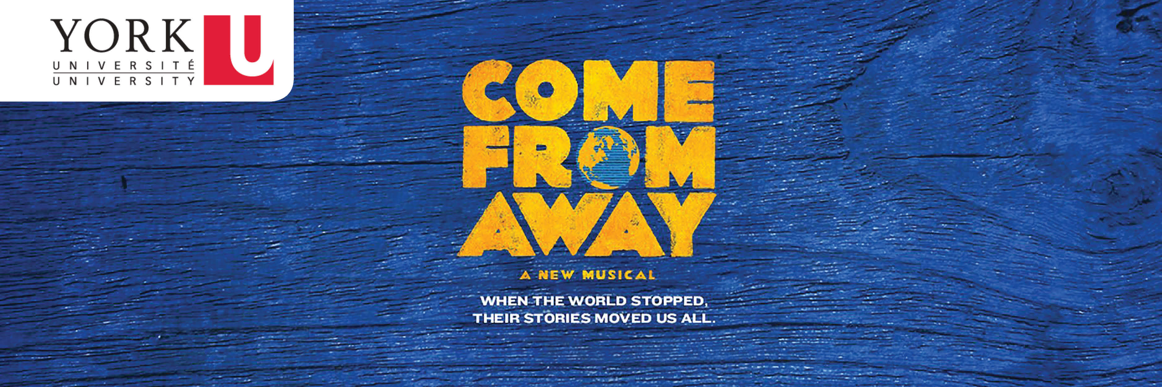 Come From Away exclusive York University alumni evening