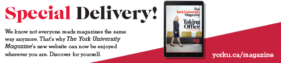 The York University Magazine Has Gone Digital