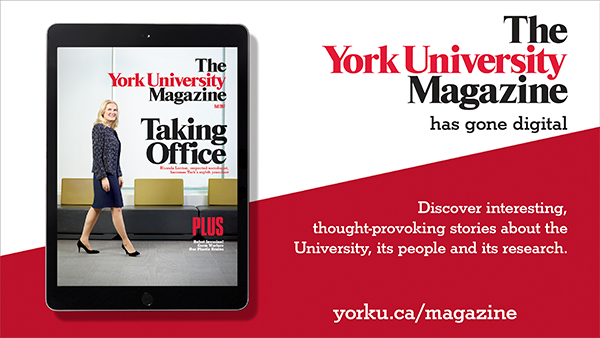 The York University Magazine Has Gone Digital