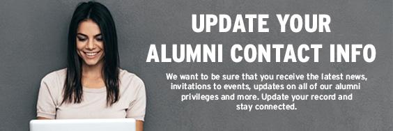 Update York Alumni Contact Info