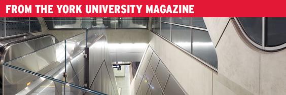 From the York University Magazine